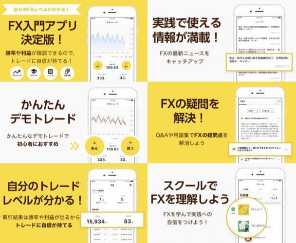 ナビナビFXアプリ・機能説明