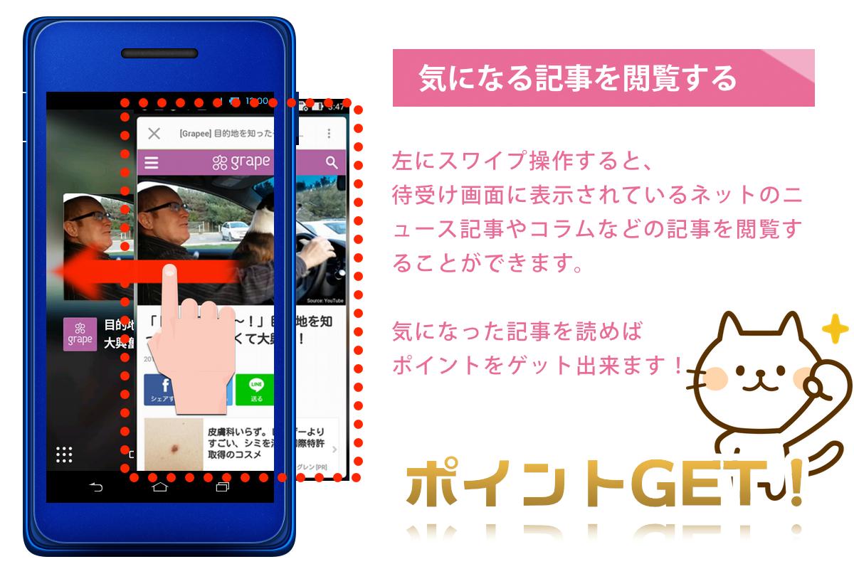 ハニースクリーン・ポイント獲得方法2