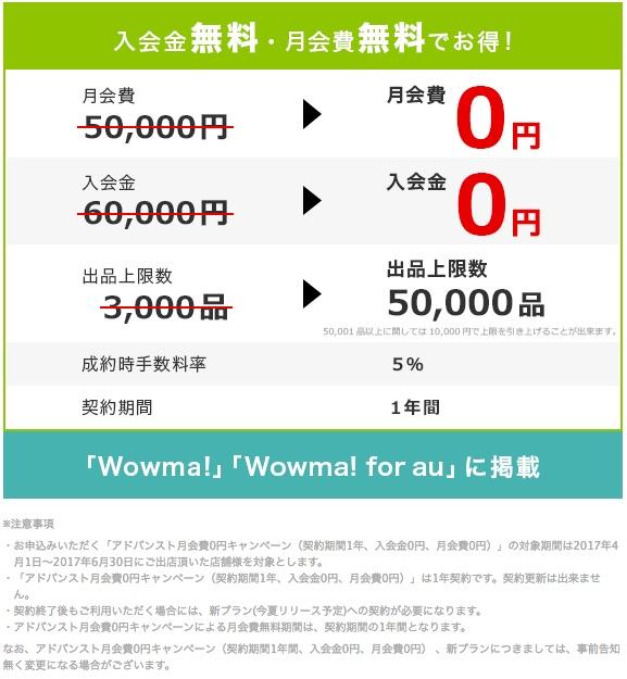 プランと費用 ネットショップ出店・開業ならWowma