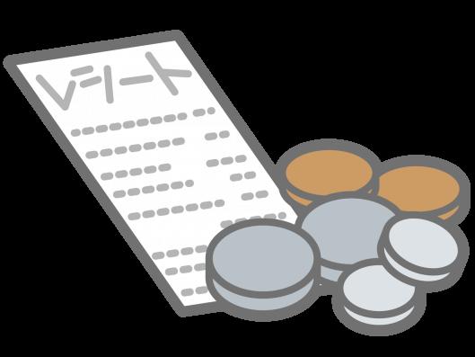 クラウドソーシングサービスでの一般的な経費(例)