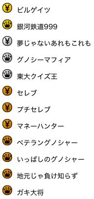 Gunosyクイズ番組_称号