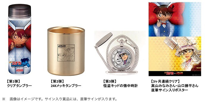 DyDo Smile STAND(ダイドー自販機アプリ)キャンペーン賞品