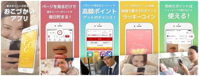 楽天の稼げるおこづかいアプリ~スーパーポイントスクリーン