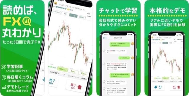 FX初心者ガイド(アイフォン・アンドロイド)アプリ